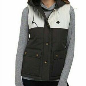 BURTON DryRide Ski Snowboard Vest Hood Jacket
